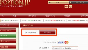 VIPオプション-クレジット以外の決済方法