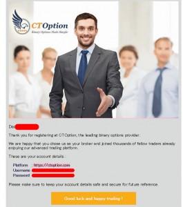 CTオプションの口座開設方法