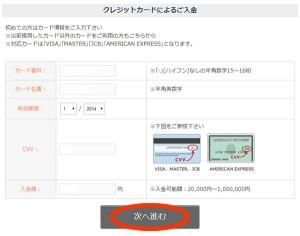EX-OPTION-クレジット入金方法